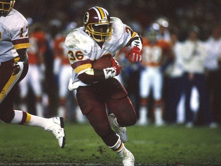 timmy smith washington redskins
