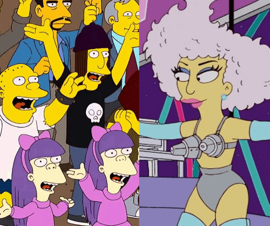 The-Simpsons-predictions-of-the-future-lady-gaga