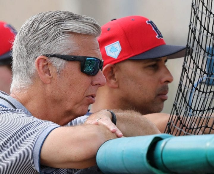 Dave Dombrowski and Alex Cora