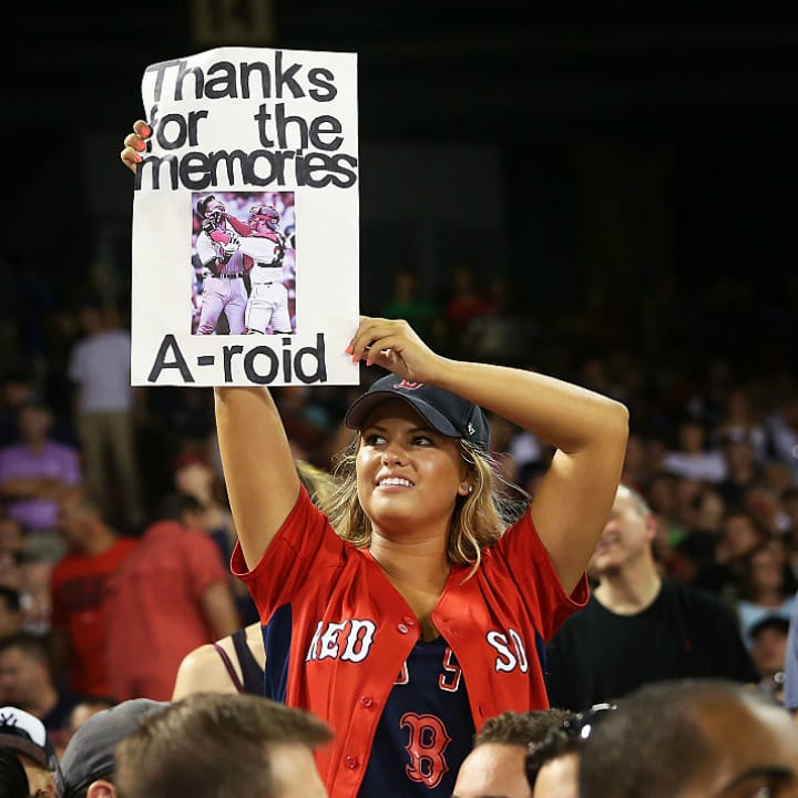 Red Sox fan sign