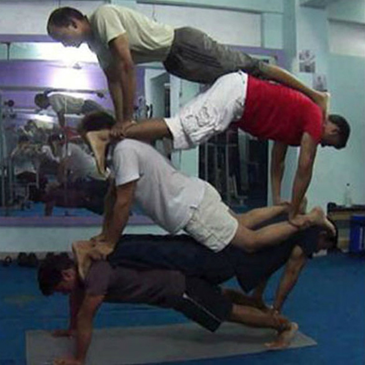 Acro yoga gym