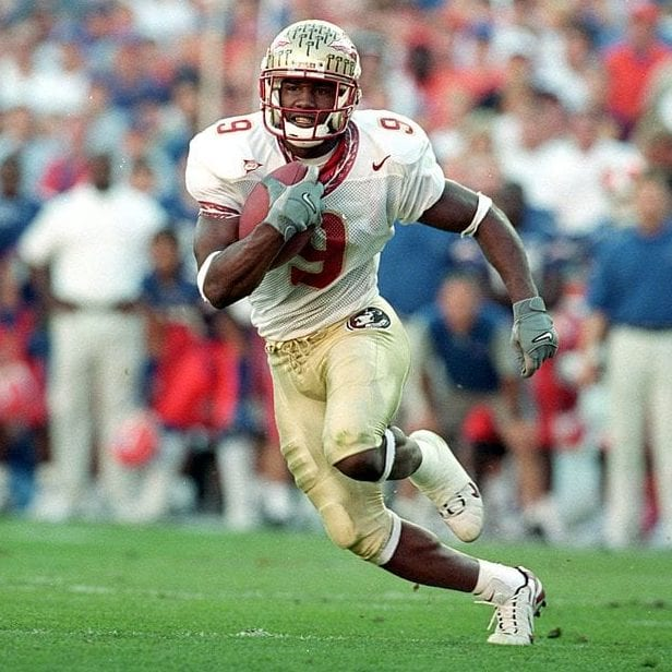 peter warrick fsu seminoles