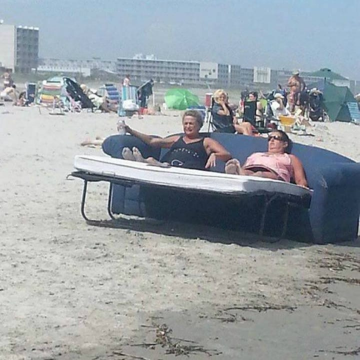 Redneck beach