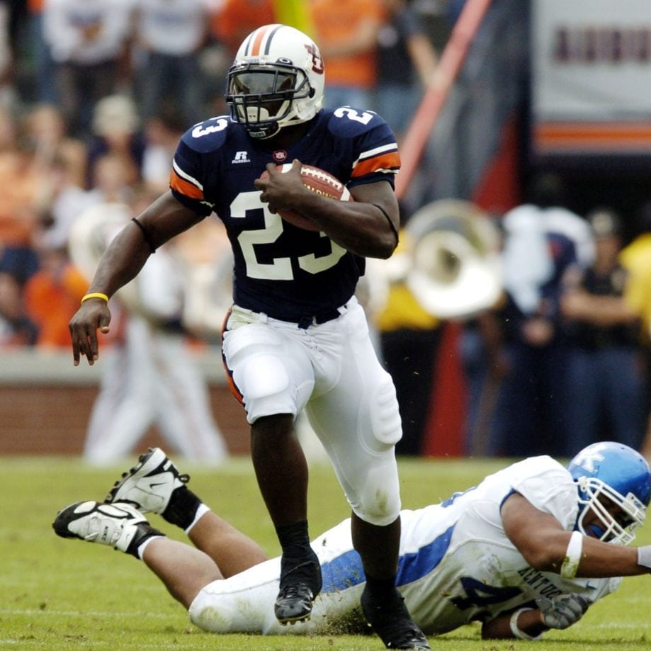 auburn tigers cadillac williams