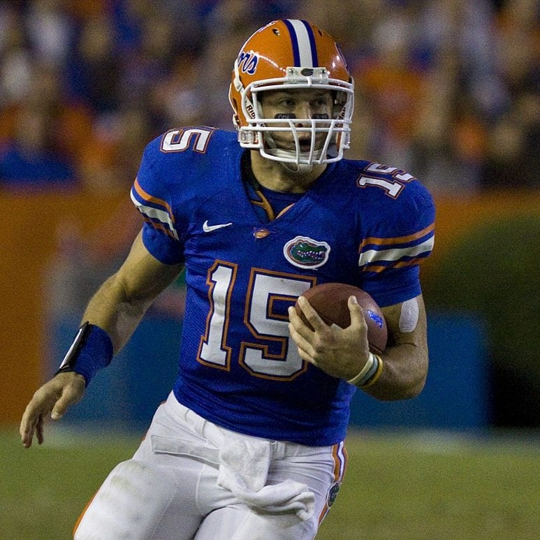 tim tebow florida gators