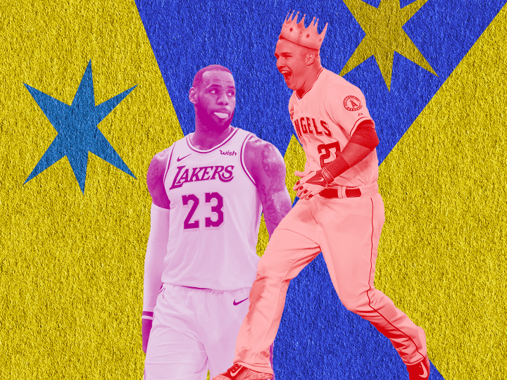 Trout shows crown to LeBron as the new King