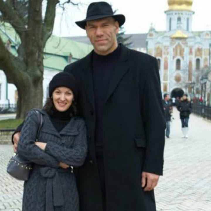 Nikolai Valuev and Galina Valuev