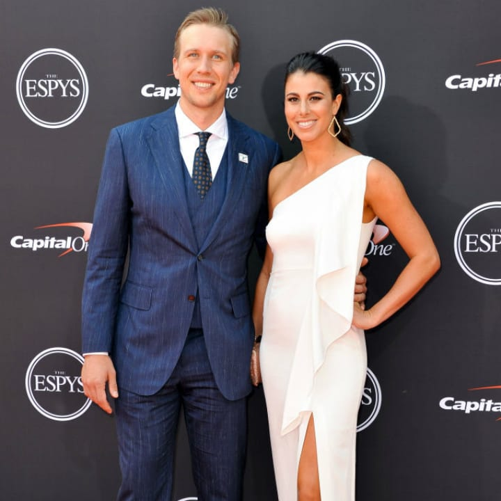 Nick Foles and Tori Foles