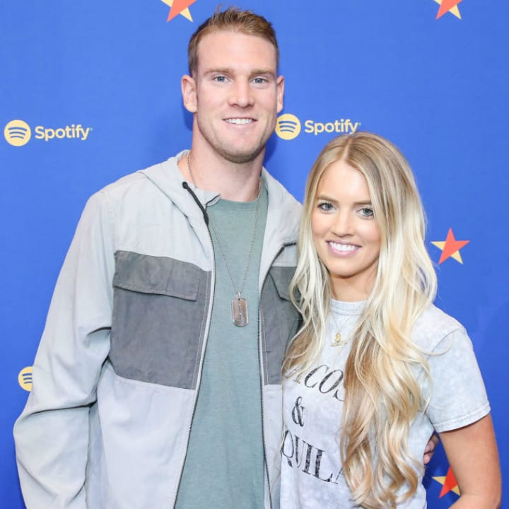 Ryan Tannehill and Lauren Tannehill