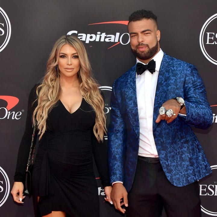 Kyle Van Noy and Marissa Powell