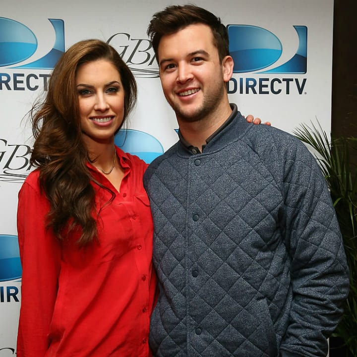 AJ McCarron and Katherine Webb