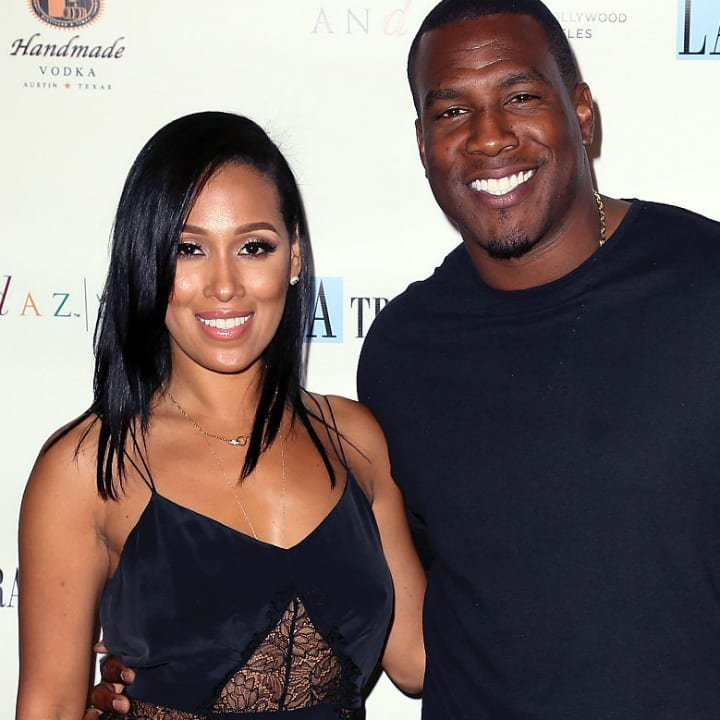 Antonio Gates and Sasha Gates