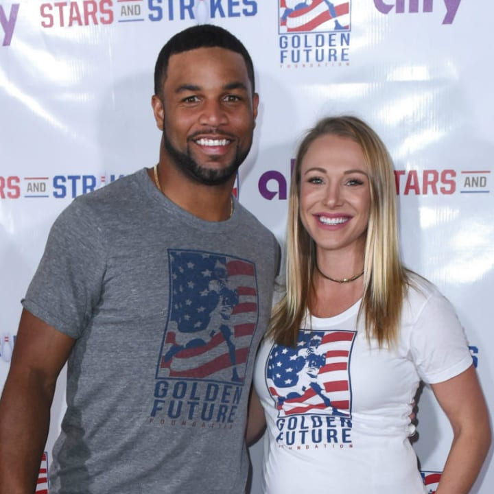 Golden Tate and Elise Tate
