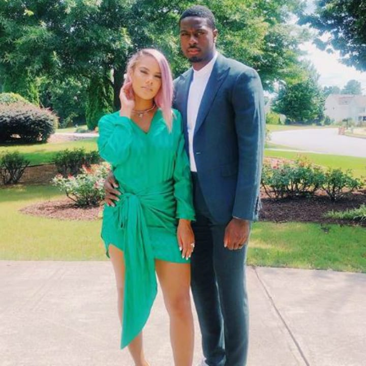 A.J. Green and Miranda Brooke