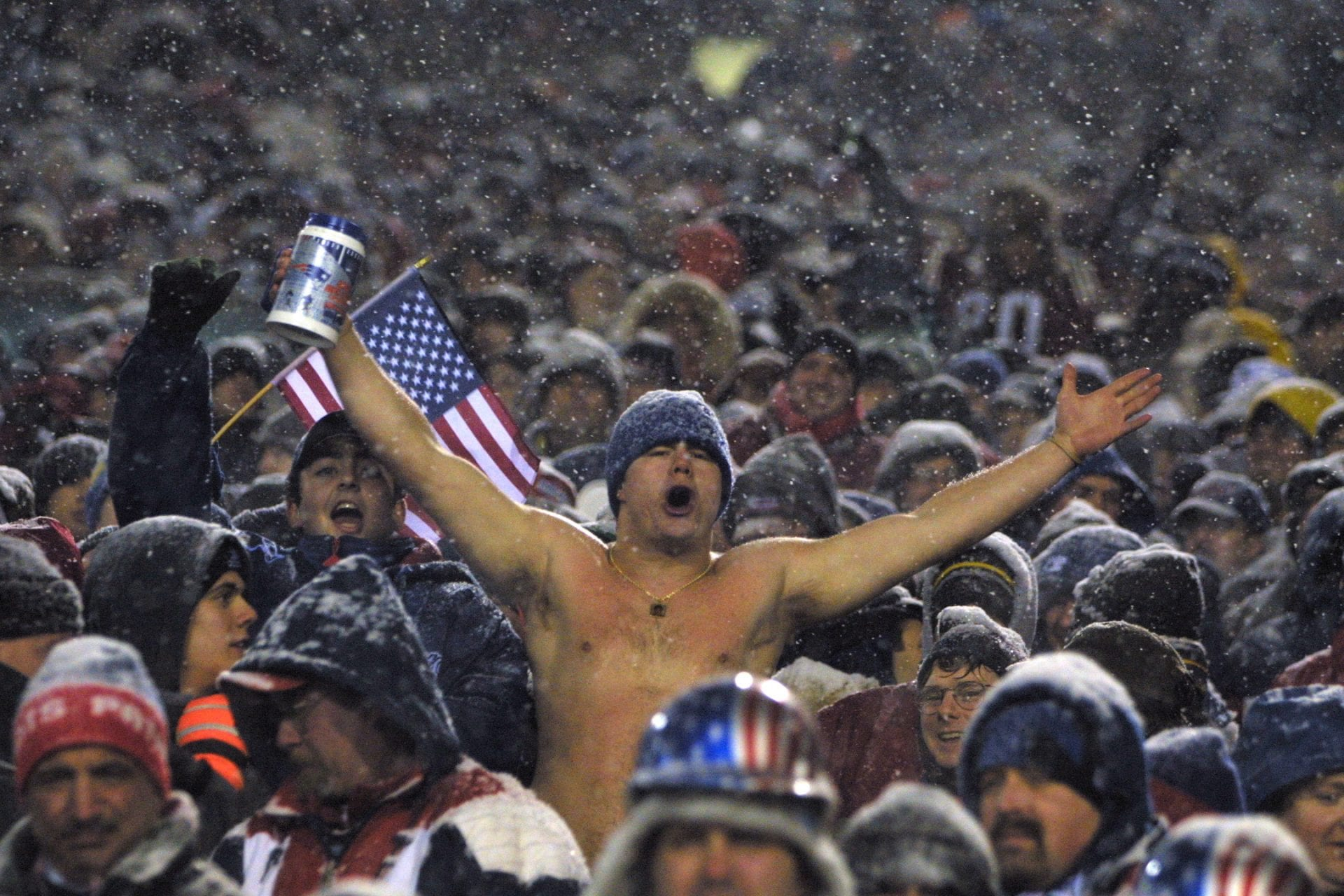 new england patriots fans