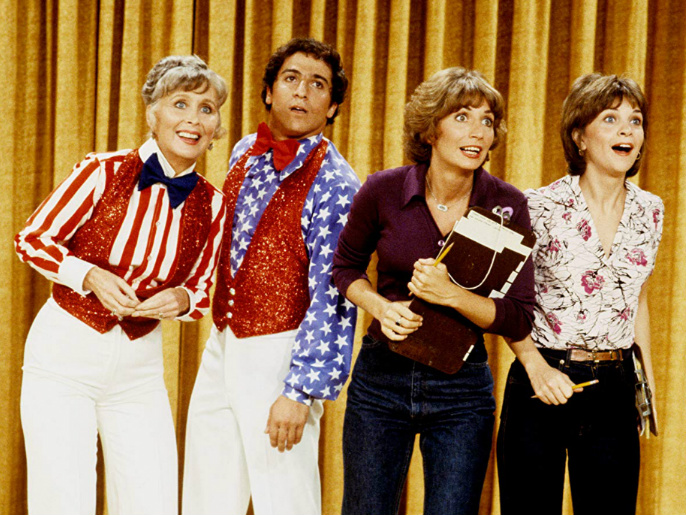 Laverne and Shirley and the gang