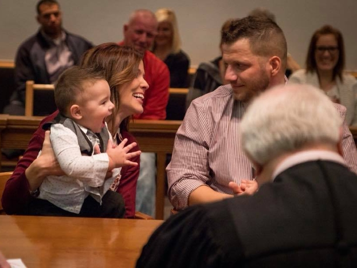 adoption hearing, moment of truth, clapping
