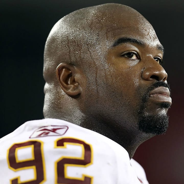 Albert Haynesworth, Washington Redskins defensive tackle