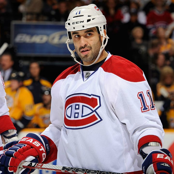Scott Gomez, Montreal Canadiens centre