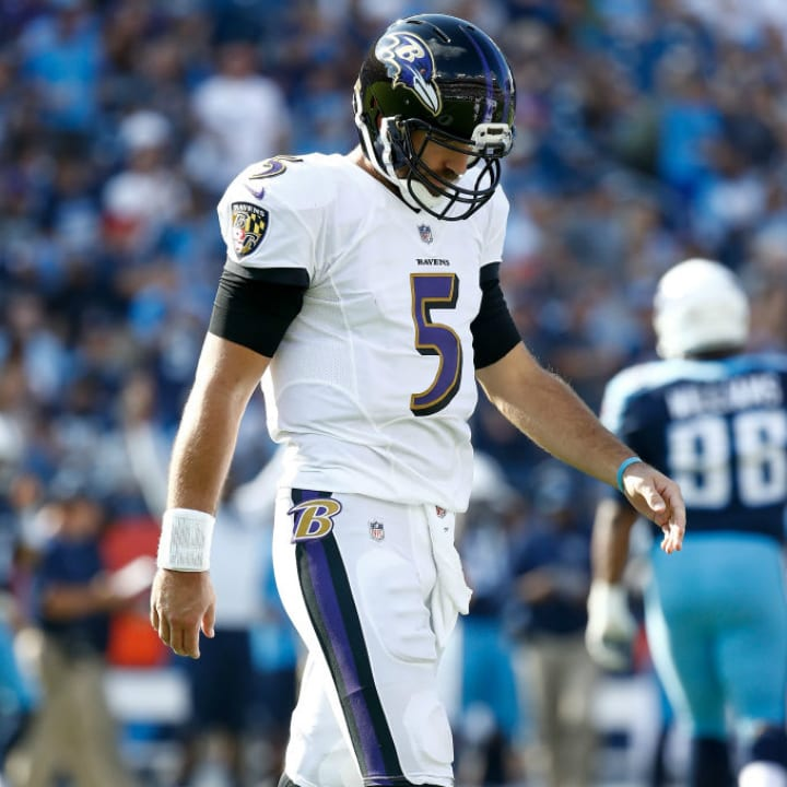 Joe Flacco, Baltimore Ravens quarterback
