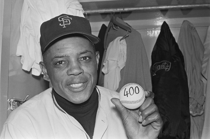 Best hitters in mlb, Willie Mays