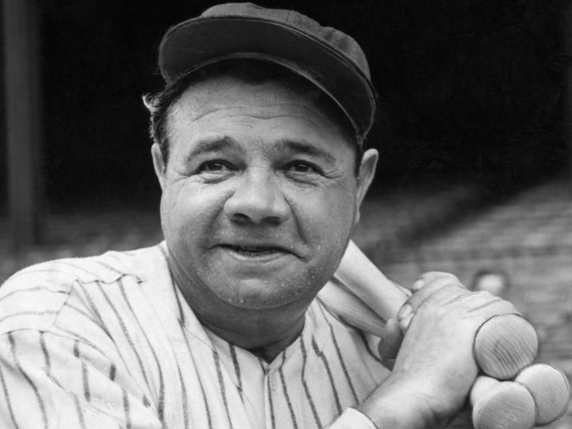 Best hitters in mlb, Babe Ruth