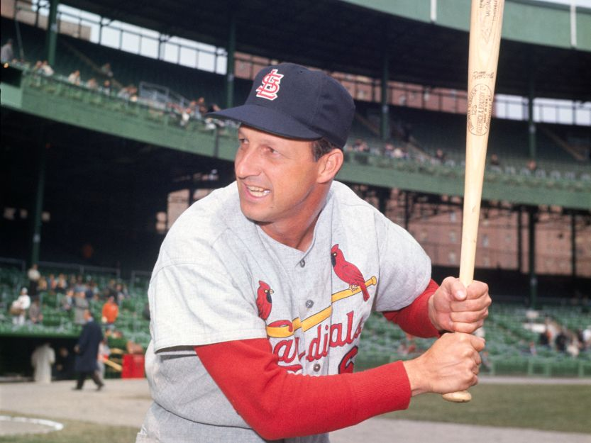 Best hitters in mlb, Stan Musial