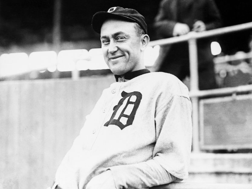 Best hitters in mlb, Ty Cobb
