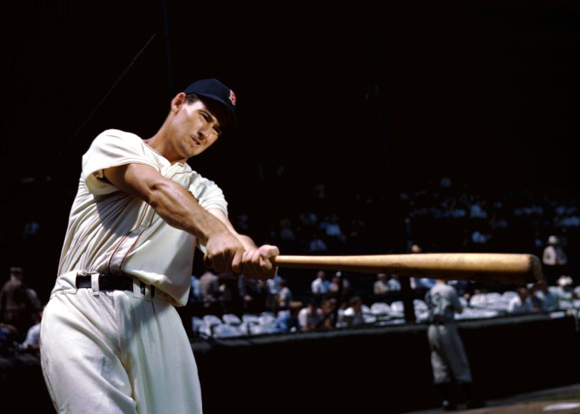 Best hitters in mlb, Ted Williams