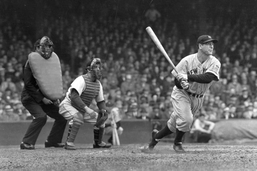 Best hitters in mlb, Lou Gehrig